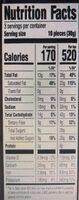 Green & black's organic 70% cacao dark chocolate - Nutrition facts - en