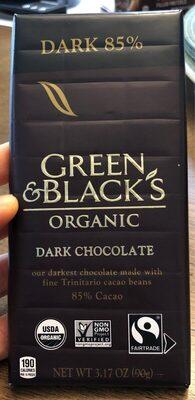 Dark chocolate 85% - Product - en