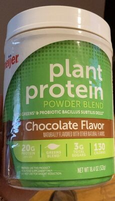 Plant protein - Product - en