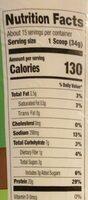Plant protein - Nutrition facts - en