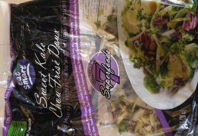 Sweet kale vegetable salad kit - Product - en