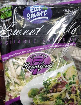 Vegetable salad kit - Product - en