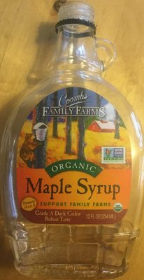 Organic Maple Syrup - Product