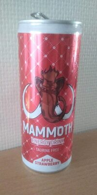 Mammoth Energy Drink - Produit - fr