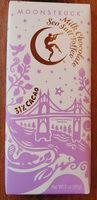 Milk Chocolate Sea Salt Toffee Bar - Product