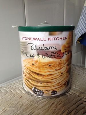 Stonewall kitchen, pancake & waffle mix, blueberry - 1