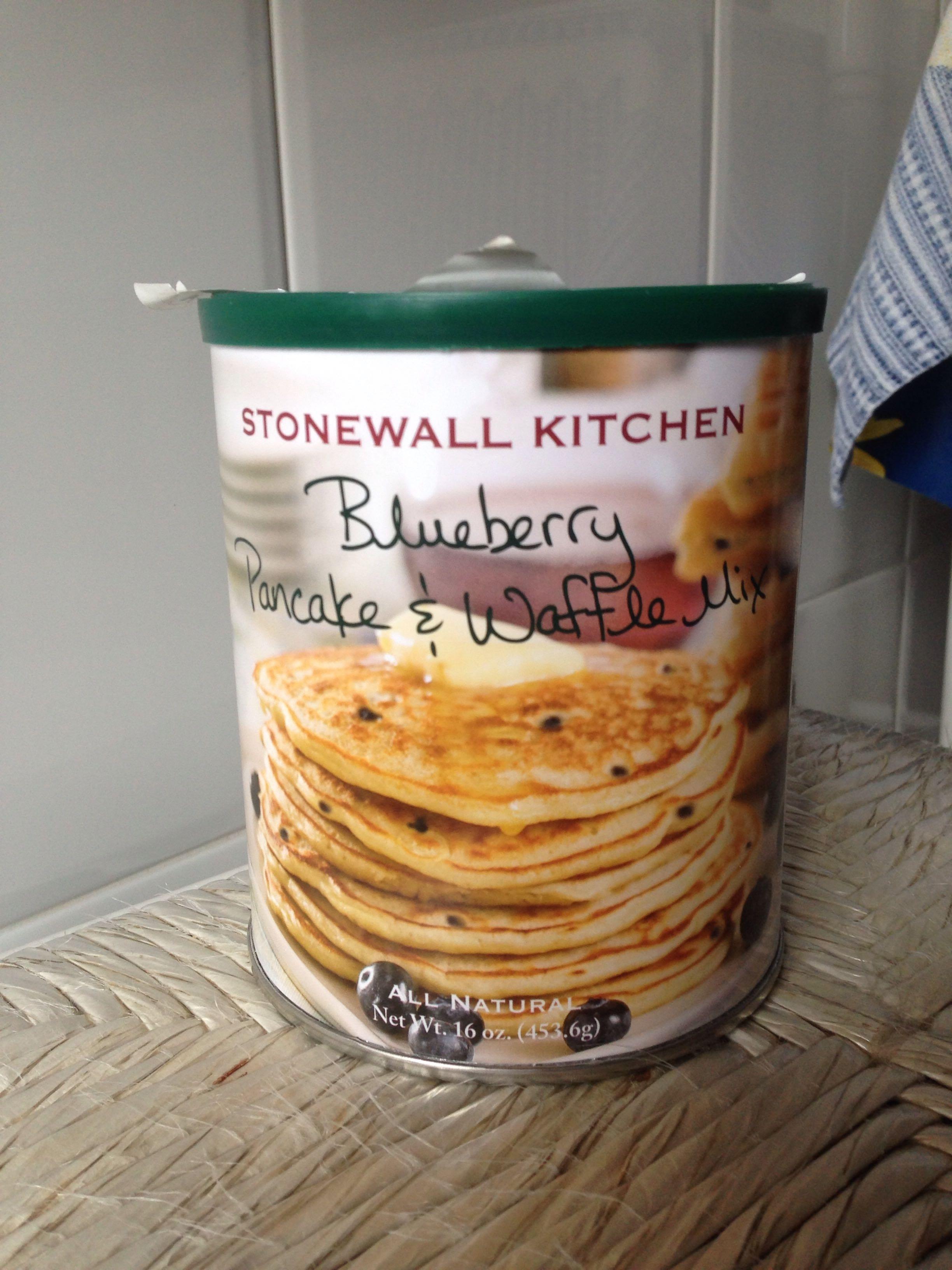Blueberry pancake & waffle mix - Product