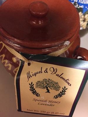 Spanish lavender honey - Product