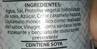 Salsa de Soja - Ingredients - es