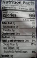 Plums - Valori nutrizionali - en