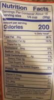 Shelled Walnuts - Valori nutrizionali - en