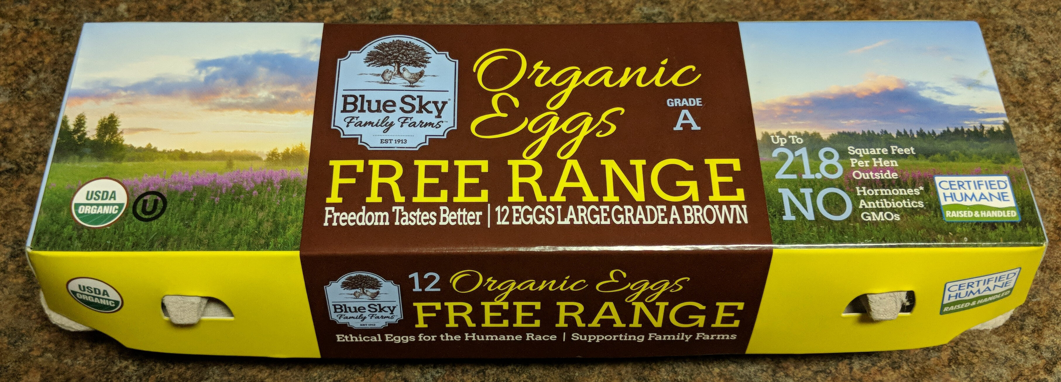 Organic Eggs Free Range - Product