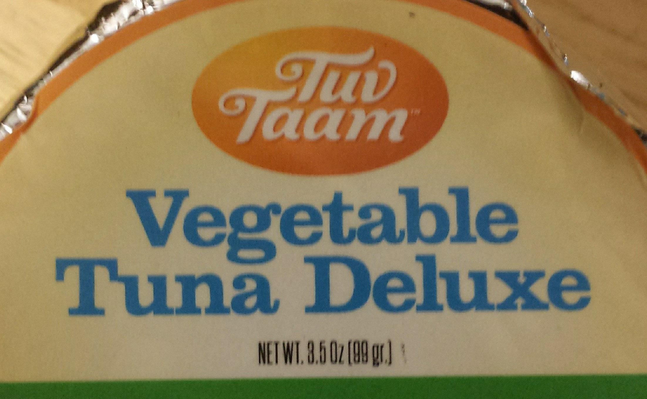Vegetable Tuna Deluxe - Product - en