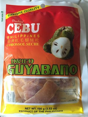 Dried Guyabano - Product