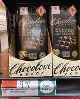 Strong Dark Chocolate - Product - en