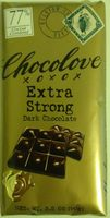 Chocolove xoxox extra string - Product