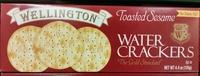 Toasted Sesame Water Crackers - Produit - en
