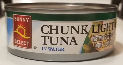 Chunk Light Tuna in Water - Produit - en