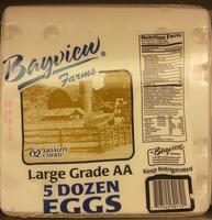 Large Grade AA 5 Dozen Eggs - Product - en