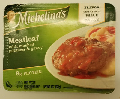 Mealtoaf with mashed potatoes & gravy - Product