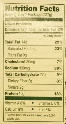 Loading… - Nutrition facts