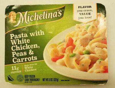 Pasta With White Chicken, Peas & Carrots - Product