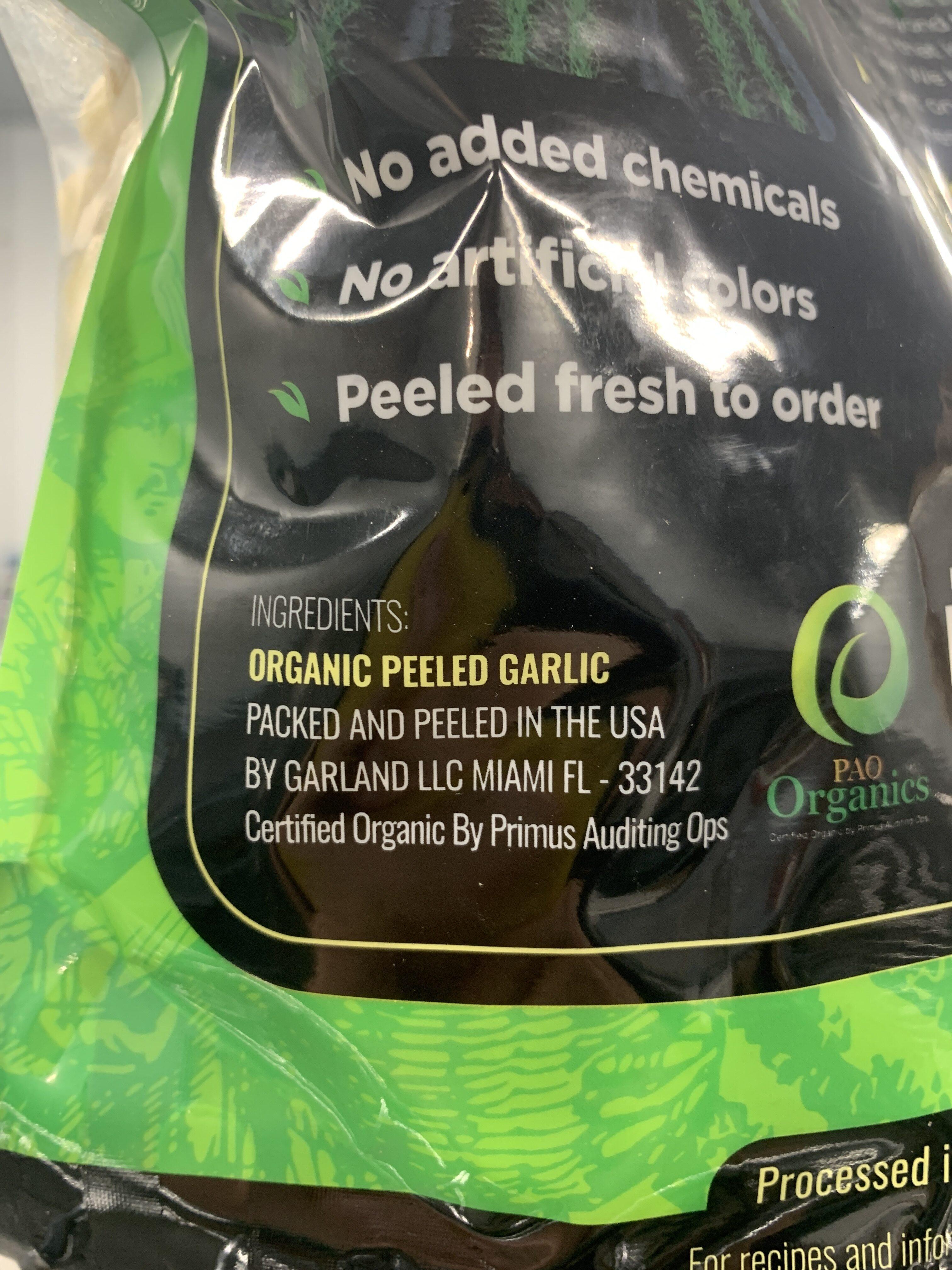 Peeled Garlic - Ingredienti - en