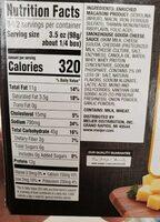 Smokehouse gouda macaroni and cheese dinner - Nutrition facts - en