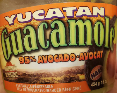 Guacamole authentic - Product