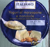 Yogurt al marzepane e mandorle - Produit - nl