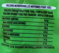 Toastiligne Céréales - Informations nutritionnelles - fr