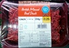 British Minced Beef Steak - Product