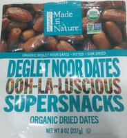 Organic Dried Dates - Produit - en