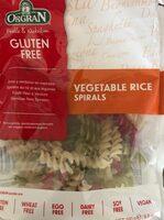 Vegetable rice spirals - Produit - fr