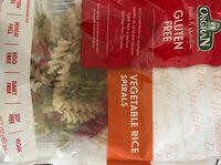 Vegetable rice spirals - Produit