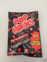 Bonbon Pop Rocks Goût Fraise - Product