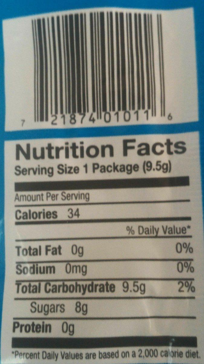 Cotton candy ounces count - Ingredients - en