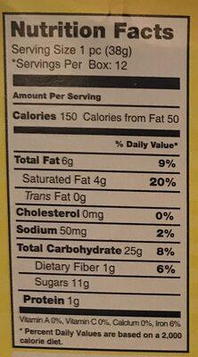 Coconut Patties - Nutrition facts - en