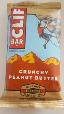 Crunchy peanut butter energy bar, crunchy peanut butter - Product - en