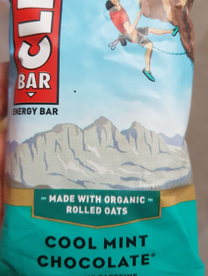 Energy Bar, Cool Mint Chocolate - Product