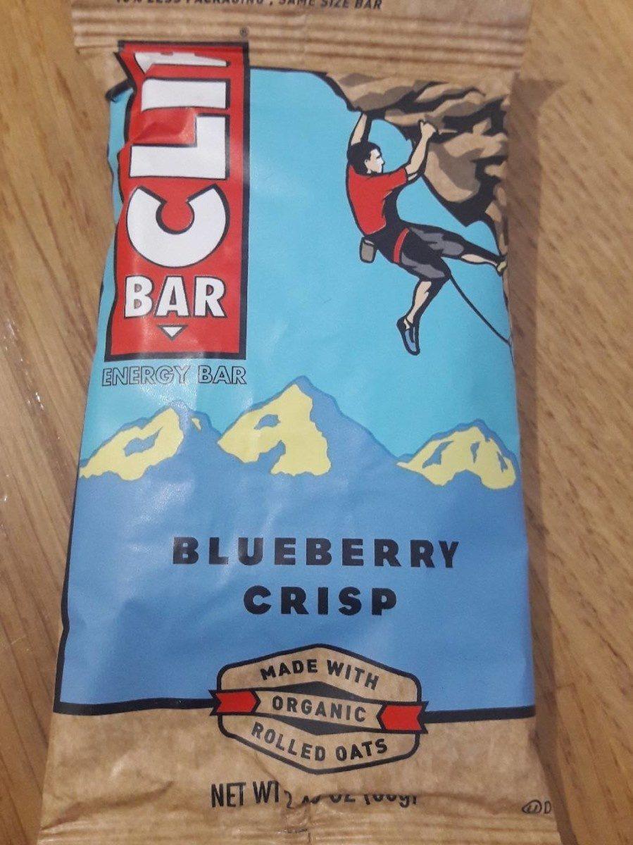 Blueberry crisp energy bar, blueberry crisp - Produit - fr