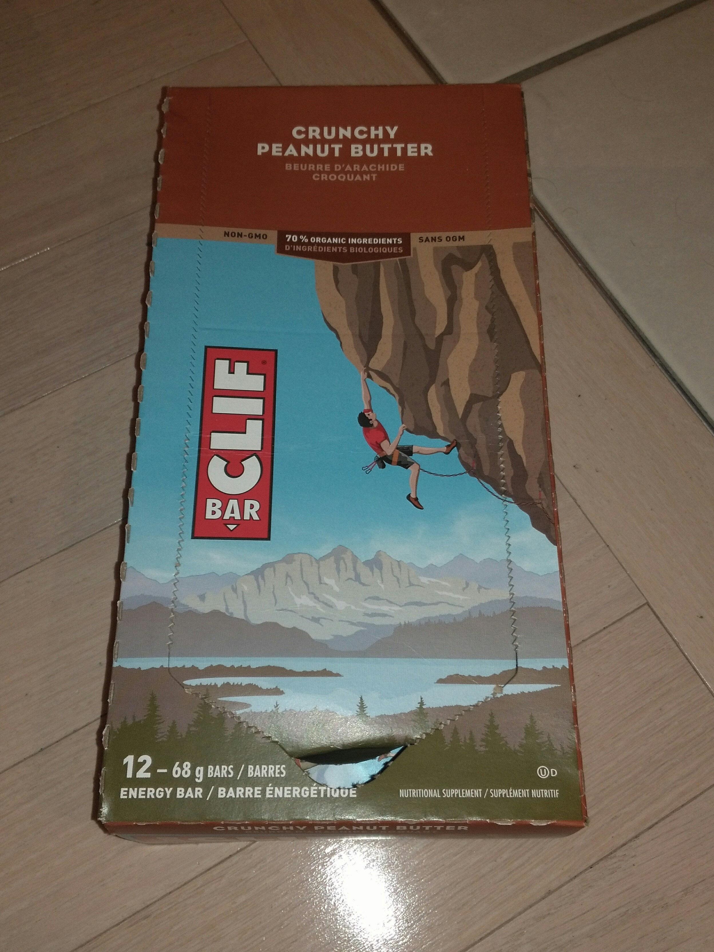 Bar clif crunchy peanut butter - Product - en