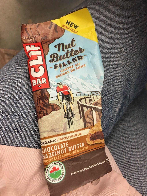Organic Nut Butter Filled Energy Bar Choc Haz But - Produit - fr
