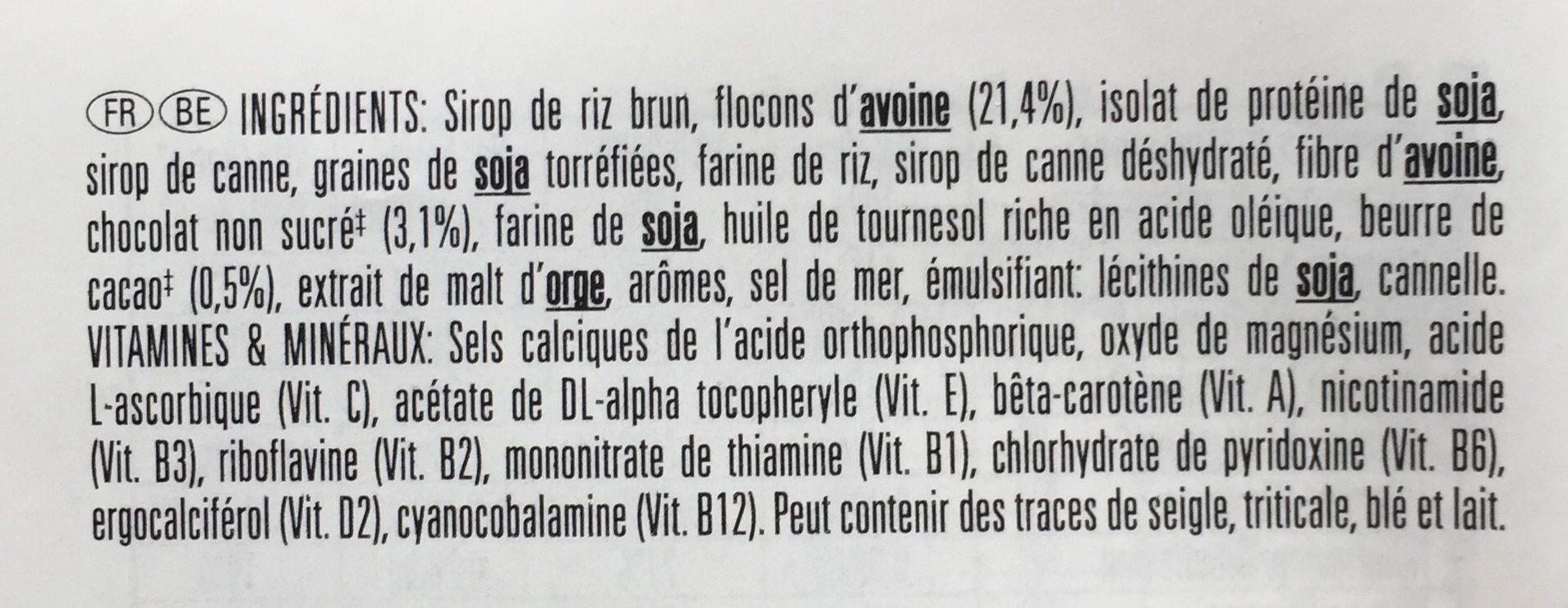 Chocolate Chip - Ingrédients - fr