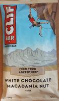 White Chocolate Macadamia Nut Flavour Energy Bar - Product