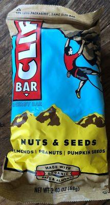 Nuts & seeds energy bar, nuts & seeds - 1