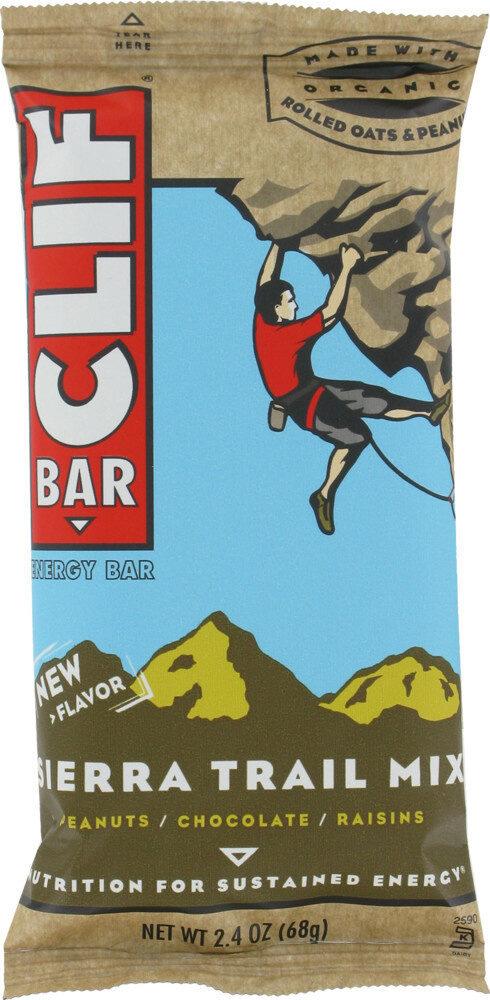 Clif sierra trail mix bar - Product - en