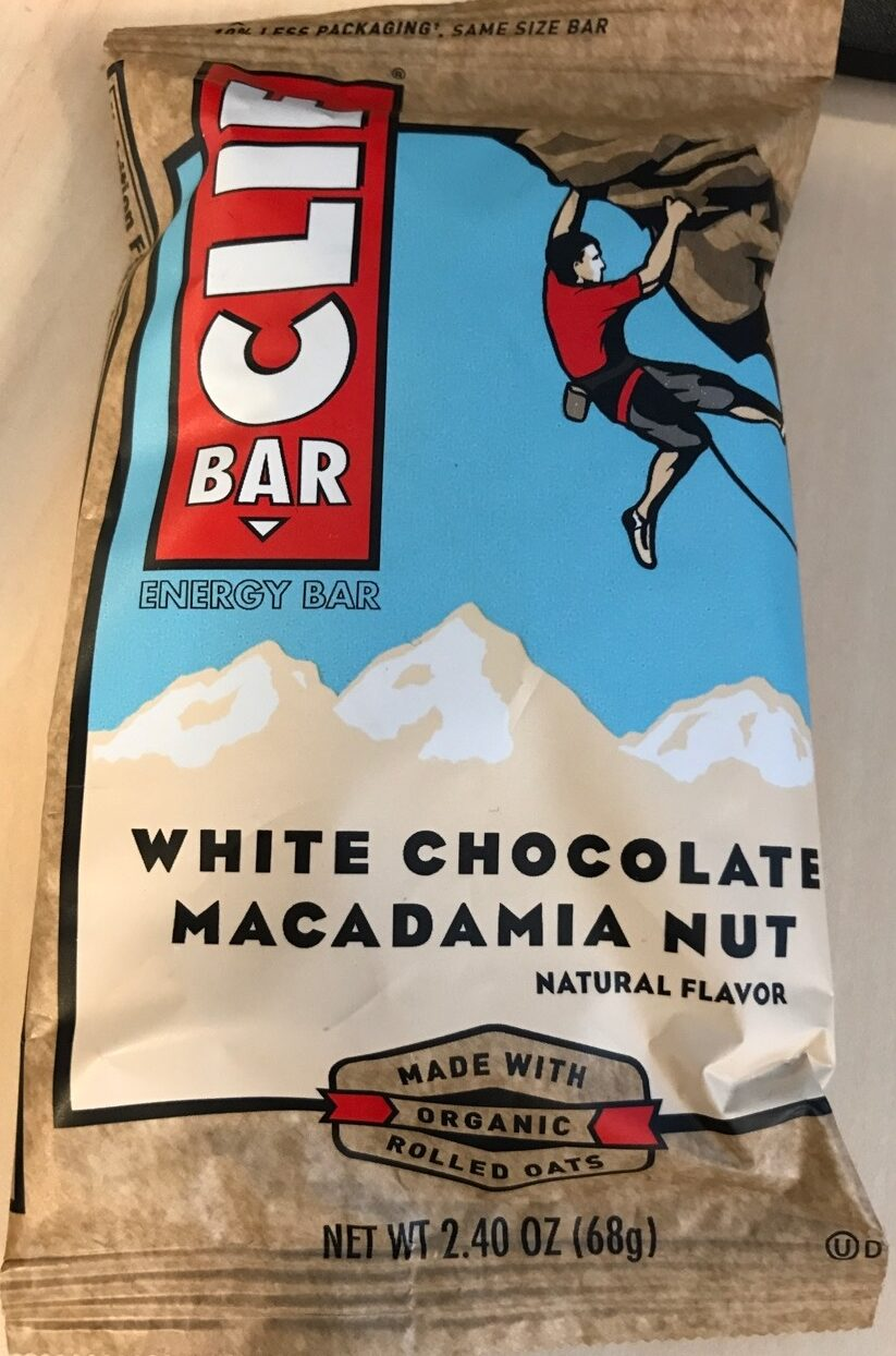 Clif Energy Bar White Chocolate Macadamia - Product
