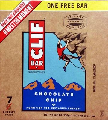 Chocolate chip energy bars, chocolate chip - Product - en