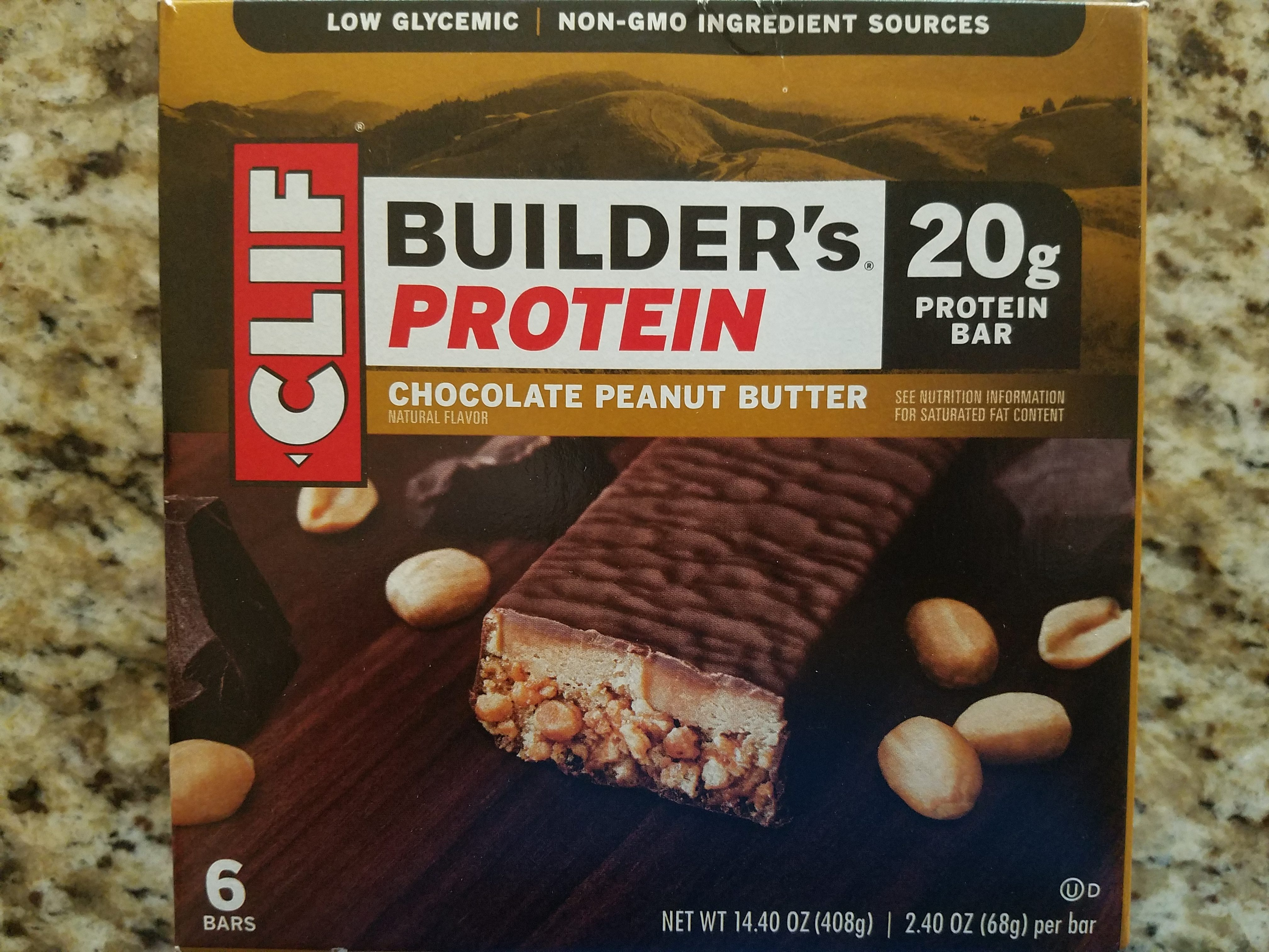 Chocolate peanut butter protein bars - Product - en